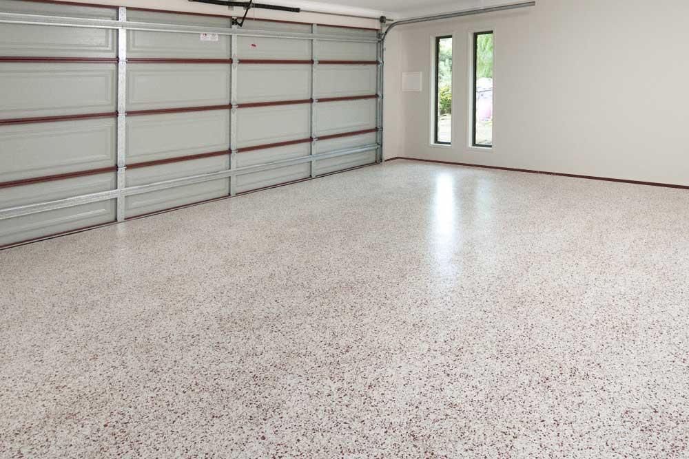 New polaspartic floor finish, Winnipeg