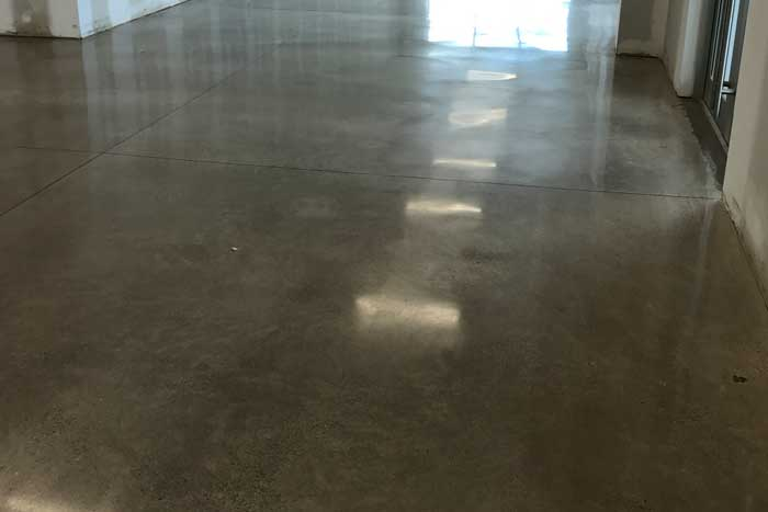 Residential and Commercial polished concrete floors, Winnipeg