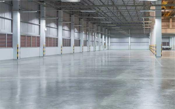 Polished Concrete Warehouse Flooring Winnipeg